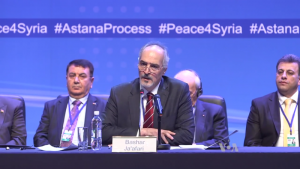 New Syrian Peace Talks In Astana