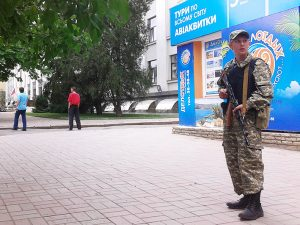 Attempted Coup In Luhansk Rebel Territory