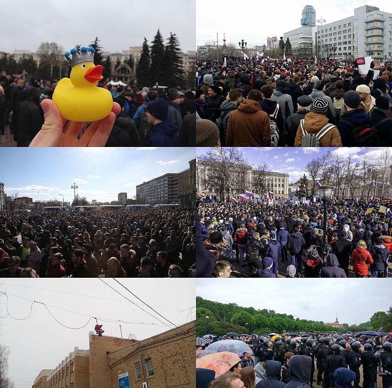 Russian Authorities Encouraging Doxing Of Demonstrators