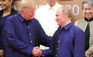 Trump, Putin Issue Joint Statement On Syria