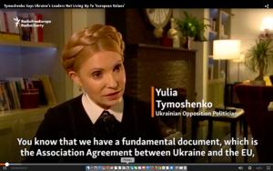 Ukraine's Tymoshenko Urges 'Different Negotiating Format' On Eastern Conflict