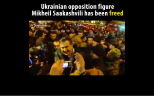 "Video:  Saakashvili Says His Arrest Was A 'Gift' To Putin.  ""People Don't Believe"" Accusations Misha Is Putin's Puppet."