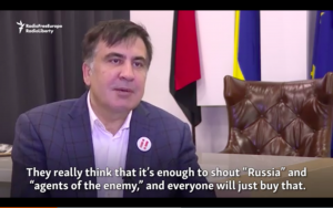 Video: Saakashvili Says His Arrest Was A 'Gift' To Putin
