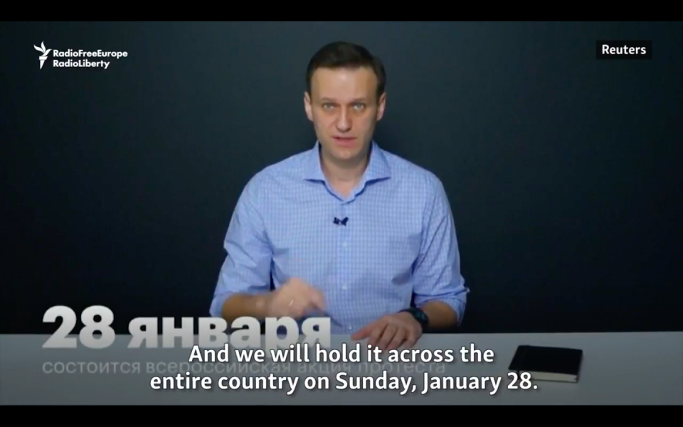 YouTube Blocks Russian Opposition Candidate's Video Call For Election Boycott