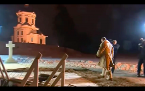 Video: Putin Strips And Bathes In Icy Water For The Epiphany