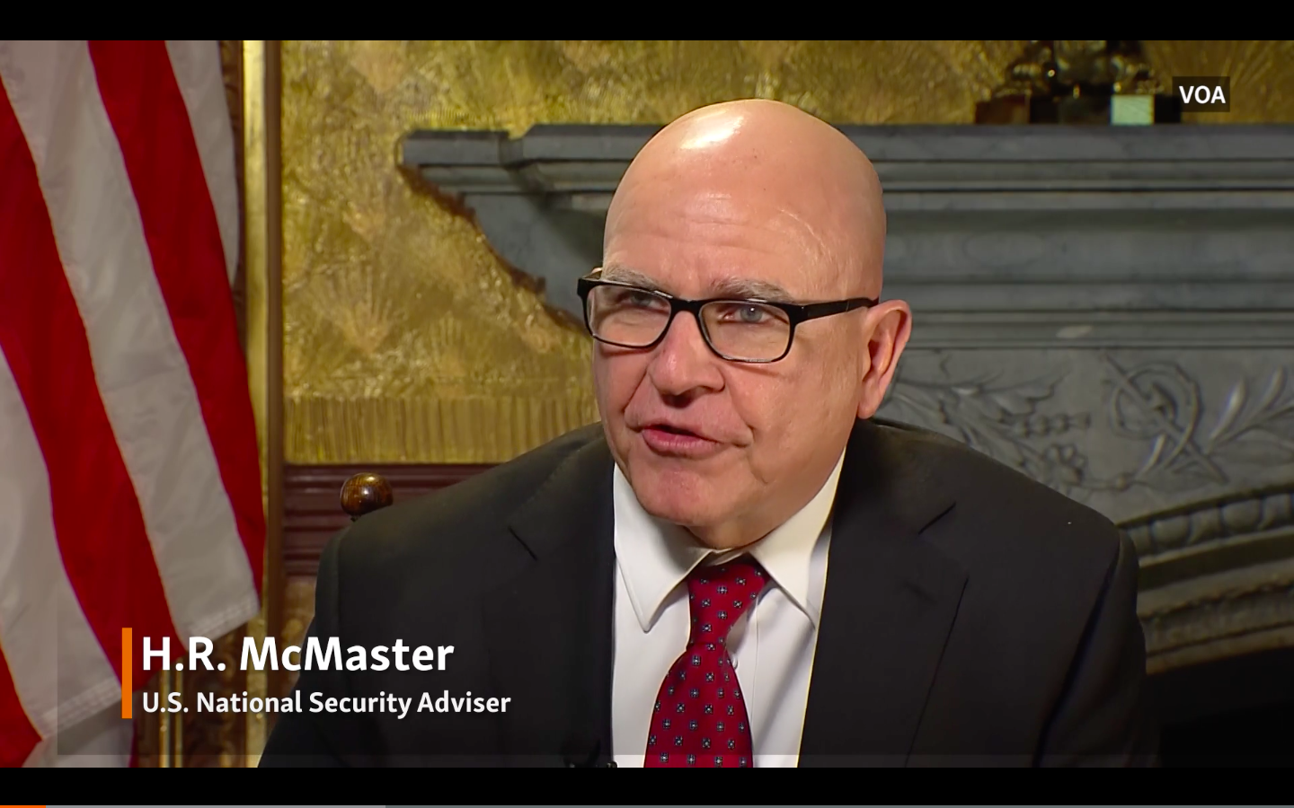 McMaster Says Russia Uses Implausible Deniability On Election Meddling