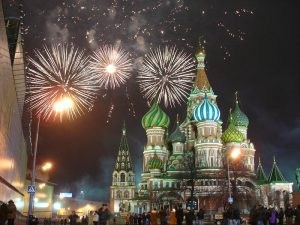 Images: A Trip Around Russia on New Year's Eve