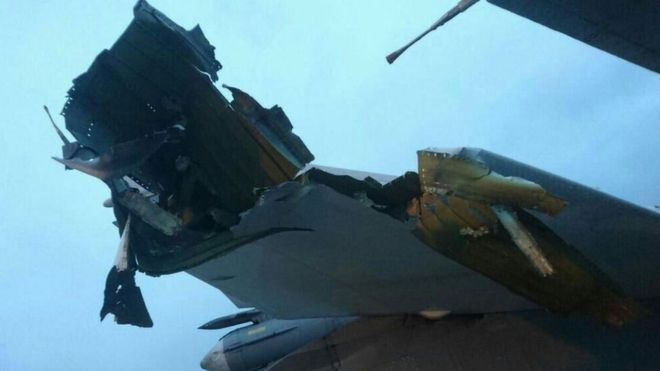 UPDATE/PHOTOS: Russian Media Reports 7 Aircraft Destroyed By Radical Islamist Mortar Attack On Russian Airbase In Syria