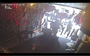 Video:  Security Storms Restaurant In Ukraine To Arrest Saakashvili For Deportation