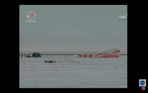 Video:  Joint US/Russian Space Station Crew Return To Earth In Kazakhstan