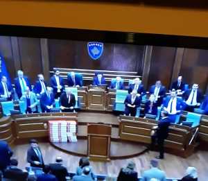 Kosovo Parliament Ratifies Demarcation Agreement With Montenegro
