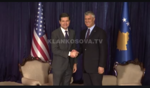 US supports establishment of military in Kosovo