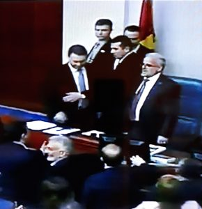 Macedonian Parliament Finally Votes To Approve Law On Language Use, Tension And Physical Clashes Among MPs