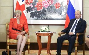 Theresa May Enacts Tough Anti-Russian Measures