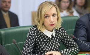 Take This #MeToo...Feminine charm of Russian Foreign Ministry's spokeswoman Maria Zakharova