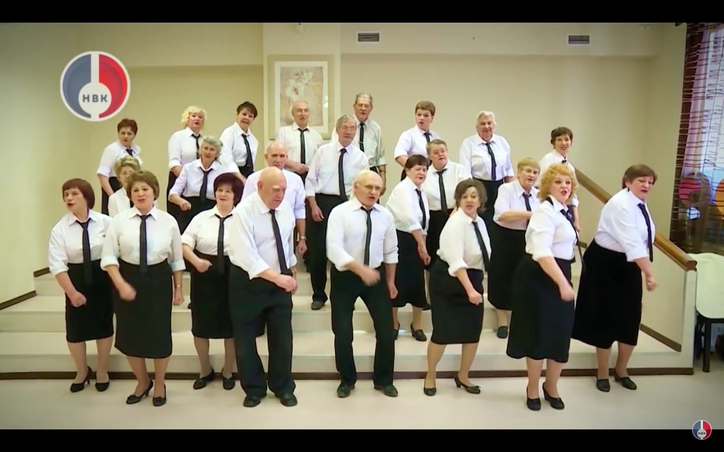 Video: Russia Uses Rapping Pensioners To Get Out The Vote