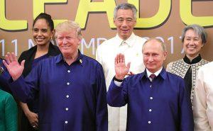Trump Calls Putin To Congratulate Him On Election Win