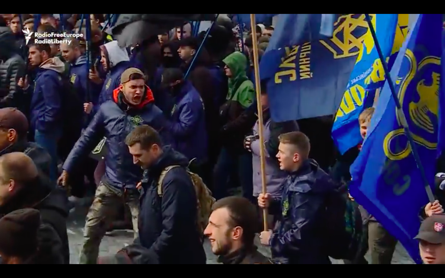 Video: Ukrainian Nationalists Take To Streets In Kyiv To Protest Oligarch Corruption