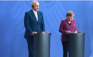 Merkel Meeting With Albanian Prime Minister Rama - Neither Fish Nor Flesh