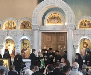 Video: Russian Orthodox Patriarch Kirill Visits Albanian Church For First Time