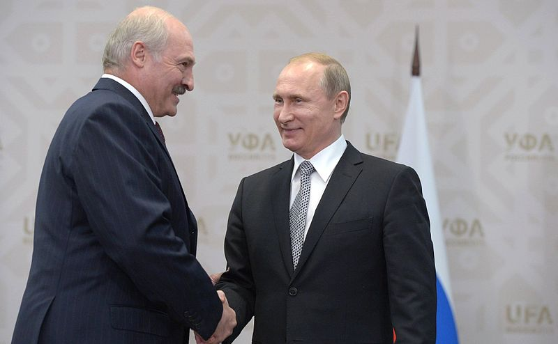 Putin Talks Nice To Lukashenko On Union State Anniversary