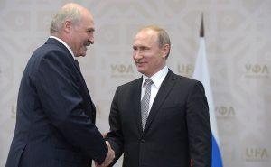 Putin Talks Nice To Lukashenko On Union State Anniversary