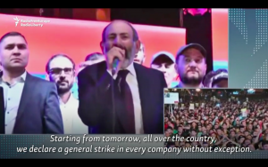 Video: Armenian Parliament Blocks Opposition Leader From PM Post, Pashinian Calls For Nationwide Strike