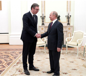 Vucic Helps Putin Pull Turkey Towards Moscow