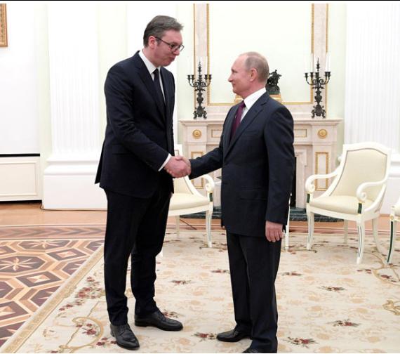 Vucic Helps Putin Pull Turkey Towards Moscow