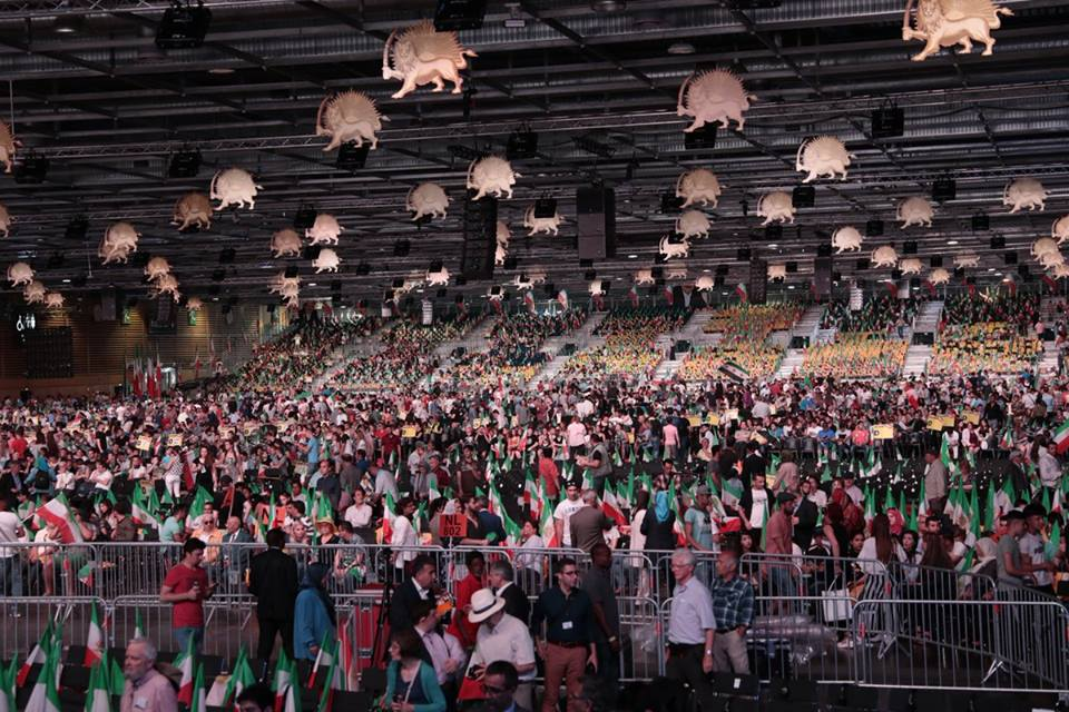 Iranian resistance heard in Paris amid calls for Europe to stop appeasing and funding Tehran