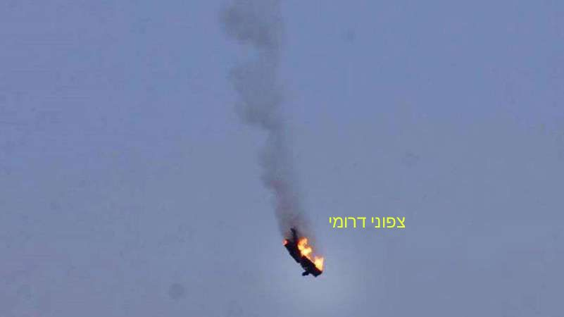 Southern Syria Erupts...Israel Shoots Down Syrian Warplane