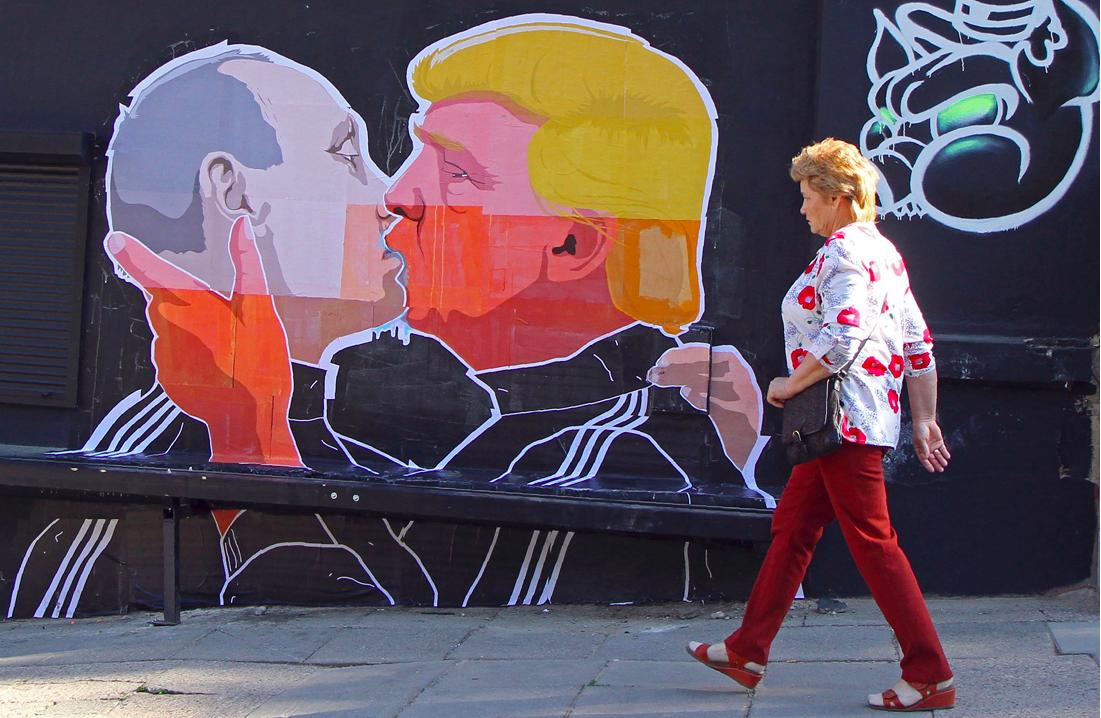 Trump Calls Putin 'A Competitor', Not A 'Foe'