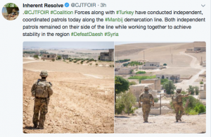 "A local member of the forces in Manbij indicated that the US should continue to protect them.  Images showed the Senator touring a shuk and meeting with people. One twitter user wrote ""A high-level delegation from the International Coalition Forces and the American Congress visited #Manbij city today. Two of the senators were Lindsey Graham and Jeanne Shaheen.""  Graham had been on a trip to Turkey where he spoke out for an imprisoned US pastor and also met with the country's leadership in Ankara. On June 29 he wrote ""Very good, respectful, and candid meeting with President Erdogan. We have real differences, but far more in common.Turkey needs to be a strategic partner for the US in a win-win fashion."" Visiting Manbij he did not tweet on July 2.   It was interpreted among the SDF as a sign of support after US Secretary of State Mike Pompeo discussed a ""roadmap"" with Turkey. One wrote ""US struggle showing #Syria's #Kurds respect & support by sending a high-level delegation of OIR countries and even the Congress to #Manbij. Two of the senators are Lindsey Graham and Jeanne Shaheen.""  According to another user ""[US Coalition] Maj. Gen. #Jarrard visit #Manbij met with Military and civilian administrations."" Shervan Derwish of the Manbij Military Council wrote ""Today We have been visited by dear guests to take a look at the situation in the city "" Manbij "". It was a wonderful visit from the US Senate and the  friends in the leadership of the international #coalition. #Manbij welcomed her guests."" The reference to Jarrard was not confirmed in other tweets but refers to Maj. Gen. James Jarrard, special operations commander, who also visited Manbij in June."