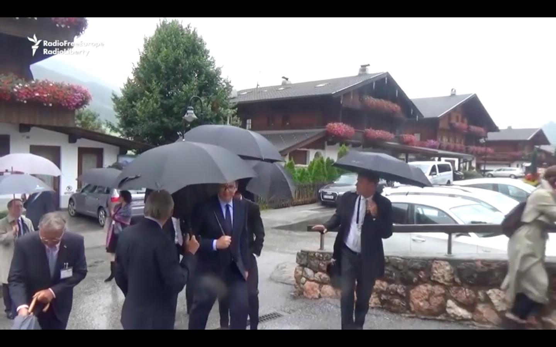 Serbian, Kosovar Presidents Meet In Austria