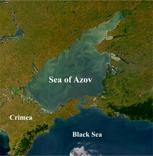 Sea Of Troubles: Azov Emerging As 'Tinderbox' In Russia-Ukraine Conflict