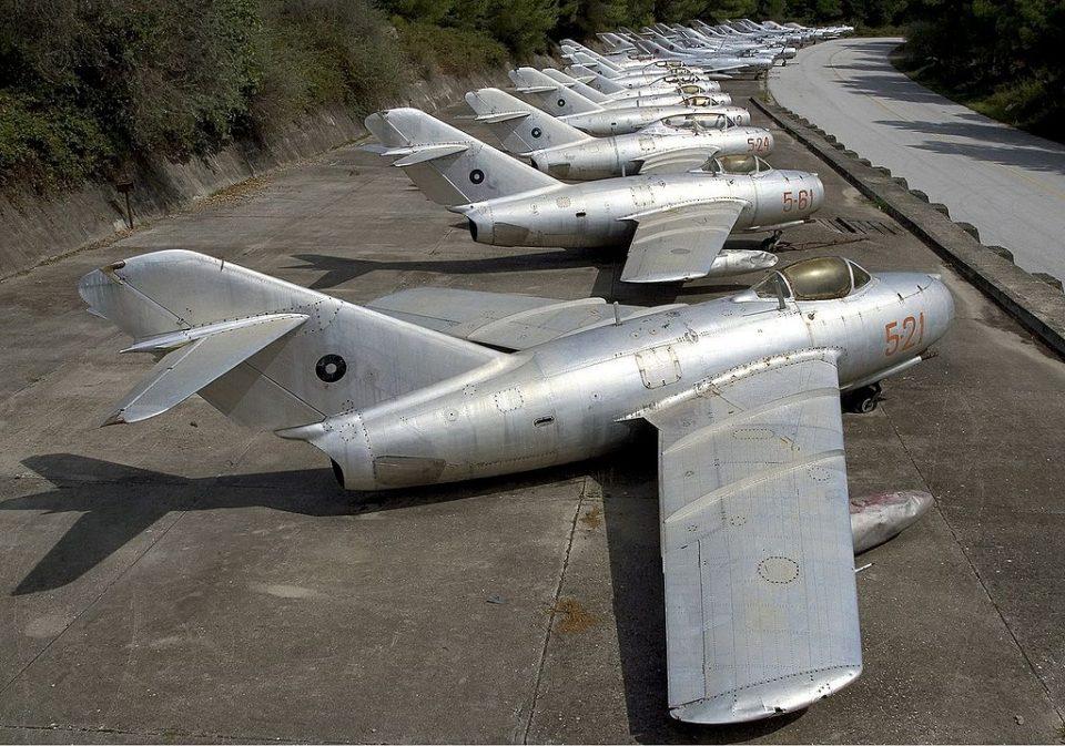 Kucove air base Albania