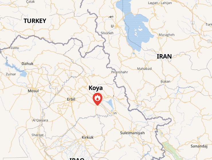 Report: Iranian Regime Strikes At Kurdish Groups In Koya, Iraq