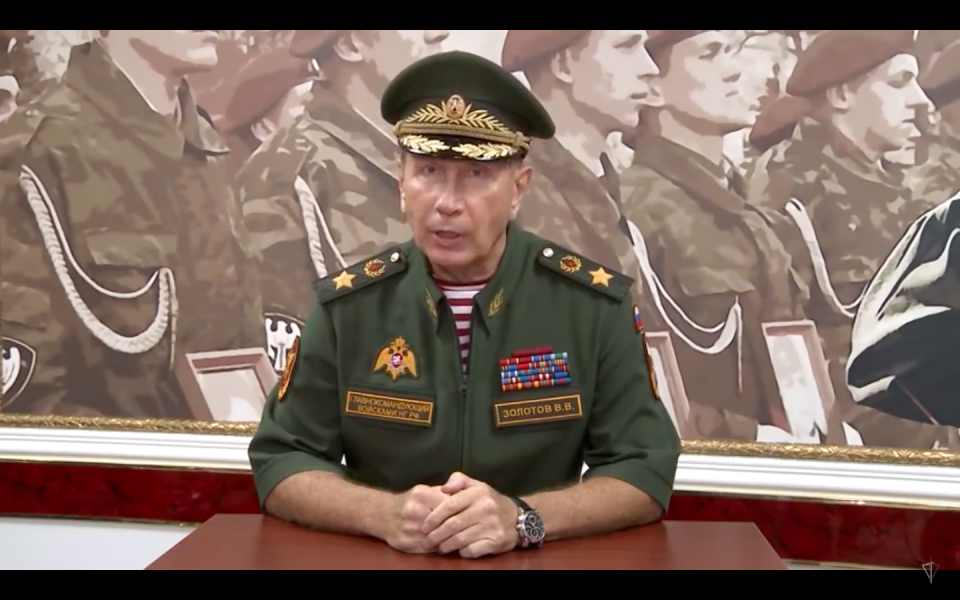 Head Of Russian National Guard Challenges Opposition Figure Navalny To Duel, Says 'Will Make Mincemeat Out Of Him' For Libel