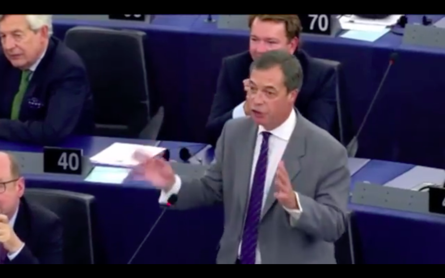 Video: Watch EU MP Nigel Farage Absolutely Torch The EU Over Its Treatment Of Hungary As It Fights For Borders