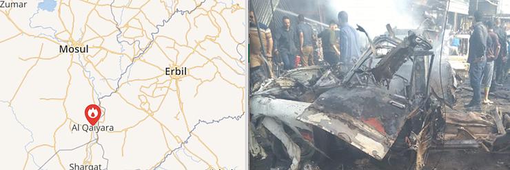 Qayyara Bombing Worst Since Liberation From ISIS