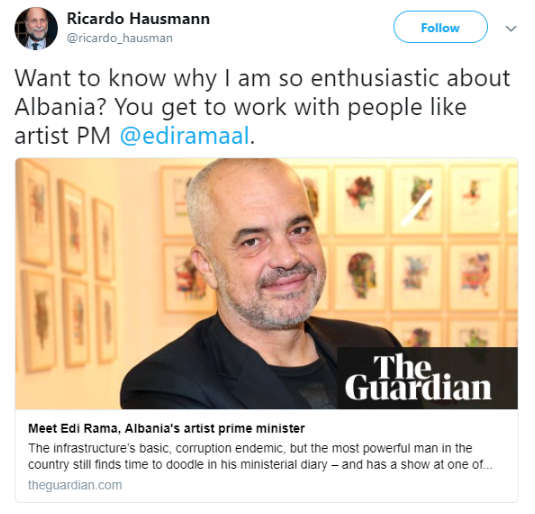Hausmann's Miracle In Albania Is Based on Economic Lies
