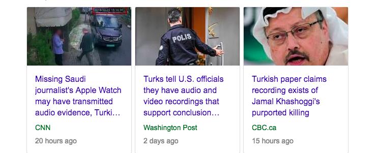 Questions About The Latest Khashoggi Affair Twist: The Secret Recording