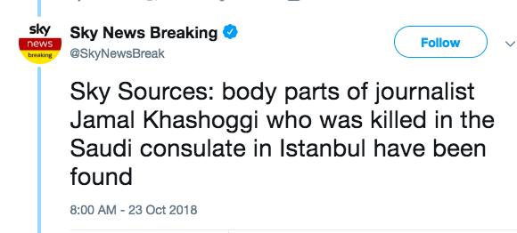 The Khashoggi Affair: The Art Of The Leak