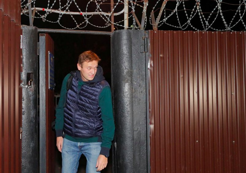 Kremlin Nemisis Navalny Released From Prison After 50 Days, As Moscow Decides What To Do With Him