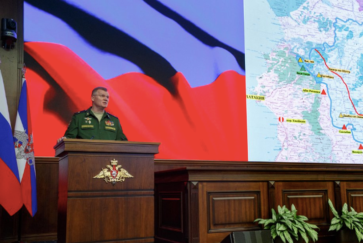"""Russia Ministry Of Defense Says Raqqa At Risk Of """"Anarchy, Famine And devastation"""" And Terror"""