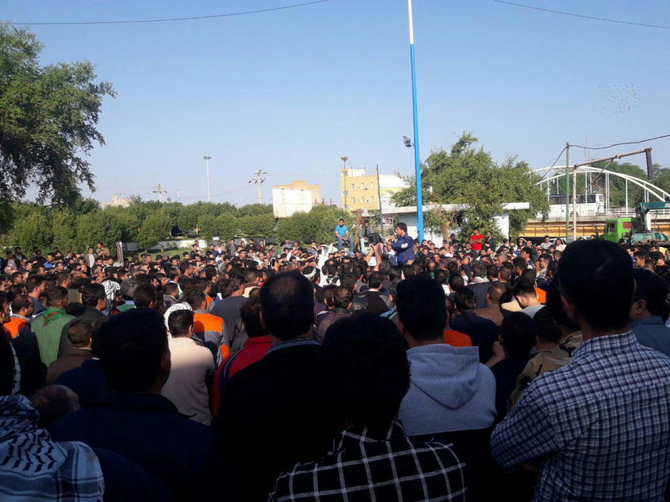 Iran: Sugarcane Factory Workers Strike in Shush the Ancient City