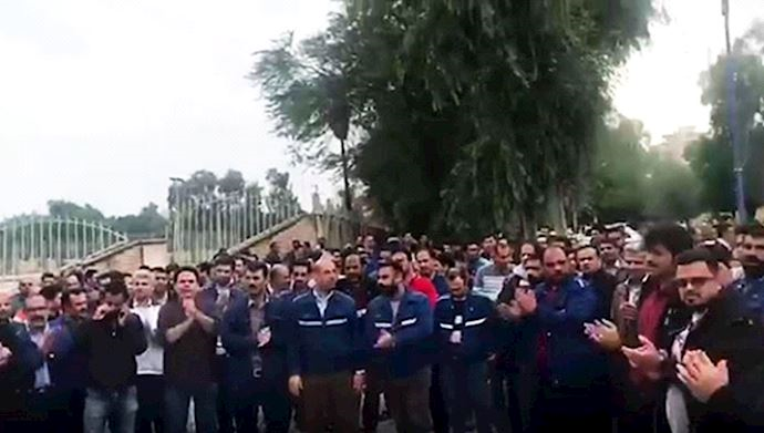 Continued Protests Of Workers And Farmers Across Iran