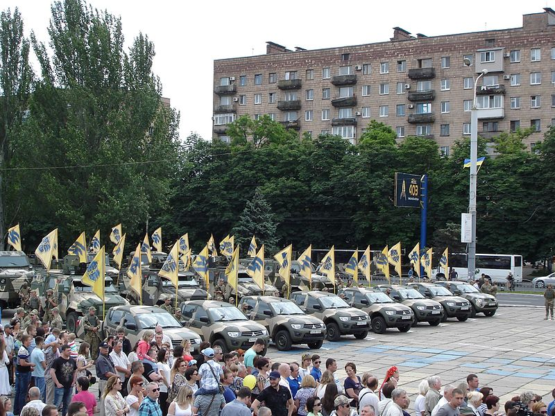 Ukrainian Azov Regiment Returning To Front Lines In Donbass
