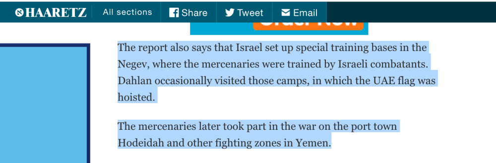 "Tracking Down A Bizarre Story That Linked Israel To 'Mercenaries,"" The Negev, And The Yemen War"