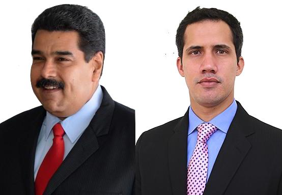 Maduro and Guaidó